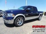 2015 True Blue Pearl Ram 1500 Laramie Crew Cab #106724710