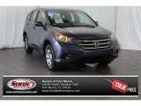 2012 Twilight Blue Metallic Honda CR-V LX #106758812