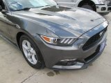 2015 Magnetic Metallic Ford Mustang EcoBoost Coupe #106786223