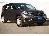 2015 Urban Titanium Metallic Honda CR-V LX #106786262