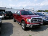 2013 Ruby Red Metallic Ford F150 XLT SuperCab 4x4 #106793456