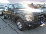 2015 Tuxedo Black Metallic Ford F150 XL SuperCab #106793351