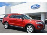 2016 Ruby Red Metallic Tri-Coat Ford Explorer XLT #106793420