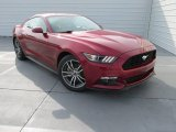 2015 Ruby Red Metallic Ford Mustang EcoBoost Coupe #106793469