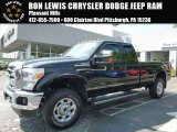 2015 Tuxedo Black Ford F250 Super Duty XLT Super Cab 4x4 #106811129
