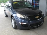 2013 Atlantis Blue Metallic Chevrolet Traverse LS #106811277