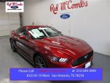 2015 Ruby Red Metallic Ford Mustang EcoBoost Coupe #106810874