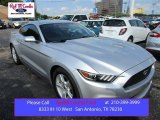 2015 Ingot Silver Metallic Ford Mustang EcoBoost Coupe #106810856