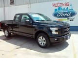 2015 Tuxedo Black Metallic Ford F150 XL SuperCab #106810848