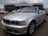 2006 Titanium Silver Metallic BMW 3 Series 325i Convertible #10685051