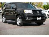2014 Crystal Black Pearl Honda Pilot EX #106850047