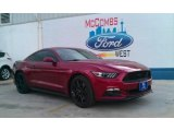2016 Ruby Red Metallic Ford Mustang GT Premium Coupe #106849889