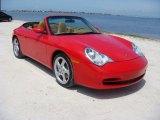 2002 Porsche 911 Guards Red