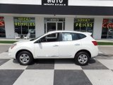 2013 Pearl White Nissan Rogue S #106885551