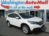 2013 White Diamond Pearl Honda CR-V EX AWD #106885332