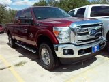 2015 Ruby Red Ford F250 Super Duty XLT Crew Cab 4x4 #106885255
