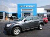 2010 Cyber Gray Metallic Chevrolet Equinox LS #106885390