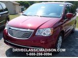 2016 Deep Cherry Red Crystal Pearl Chrysler Town & Country Touring #106885587