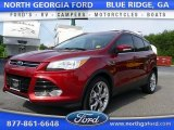 2015 Sunset Metallic Ford Escape Titanium #106885160