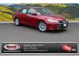 2015 Ruby Flare Pearl Toyota Camry LE #106919928