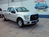 2015 Ingot Silver Metallic Ford F150 XL SuperCab #106920055