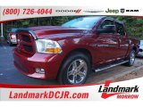 2012 Deep Cherry Red Crystal Pearl Dodge Ram 1500 Express Crew Cab #106920170