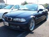 2001 Orient Blue Metallic BMW 3 Series 330i Convertible #10670599
