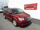 2016 Deep Cherry Red Crystal Pearl Chrysler Town & Country Touring #106957359