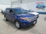 2013 Deep Impact Blue Metallic Ford Explorer FWD #106977360