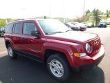 2016 Jeep Patriot Deep Cherry Red Crystal Pearl