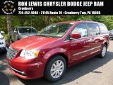 2016 Deep Cherry Red Crystal Pearl Chrysler Town & Country Touring #106985176