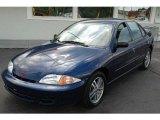 2002 Indigo Blue Metallic Chevrolet Cavalier Sedan #10684437