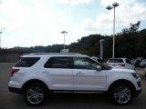 2016 White Platinum Metallic Tri-Coat Ford Explorer Limited 4WD #106985164