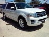 2015 White Platinum Metallic Tri-Coat Ford Expedition EL Limited #106985148