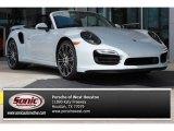 2016 Carrara White Metallic Porsche 911 Turbo S Coupe #106985325