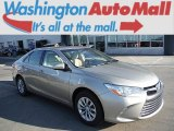 2015 Creme Brulee Mica Toyota Camry LE #107011223