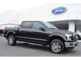 2015 Tuxedo Black Metallic Ford F150 XLT SuperCrew 4x4 #107011286