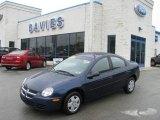 2003 Patriot Blue Pearl Dodge Neon SE #10681431