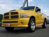 2005 Solar Yellow Dodge Ram 1500 SLT Rumble Bee Regular Cab 4x4 #10681518