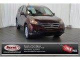 2012 Basque Red Pearl II Honda CR-V EX-L #107011069