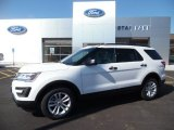 2016 Oxford White Ford Explorer 4WD #107011453