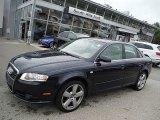 2008 Ocean Blue Pearl Effect Audi A4 3.2 Quattro S-Line Sedan #107043768