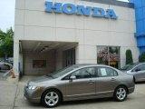2007 Galaxy Gray Metallic Honda Civic EX Sedan #10674088