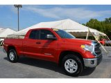 2014 Barcelona Red Metallic Toyota Tundra SR5 Double Cab #107043762