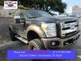 2015 Tuxedo Black Ford F250 Super Duty King Ranch Crew Cab 4x4 #107043676