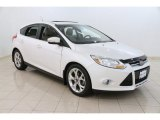 2012 White Platinum Tricoat Metallic Ford Focus SEL 5-Door #107044022