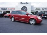 2016 Deep Cherry Red Crystal Pearl Chrysler Town & Country Touring #107043809