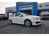2016 Summit White Chevrolet Cruze Limited LTZ #107043871