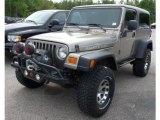 2006 Light Khaki Metallic Jeep Wrangler Unlimited Rubicon 4x4 #107044003