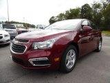 2016 Siren Red Tintcoat Chevrolet Cruze Limited LT #107043783